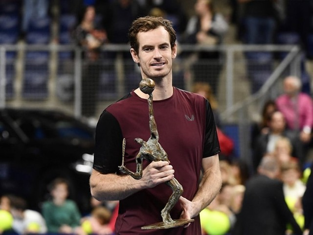 Andy Murray Wins In Antwerp, His First ATP Title Since March 2017