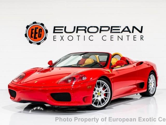 2004 Ferrari 360--Spider Beautiful Ferrari Corsa Red/ Tan Leather 360 Spider