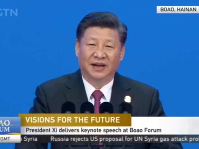 US Futures Spike As Xi Pushes Globalization Agenda, Vows To Open China To The World