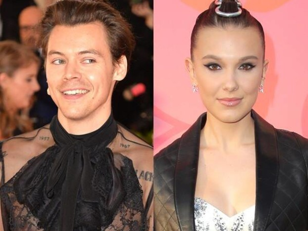 Millie Bobby Brown and Harry Styles Dance Like Nobody's Watching at Ariana Grande Concert