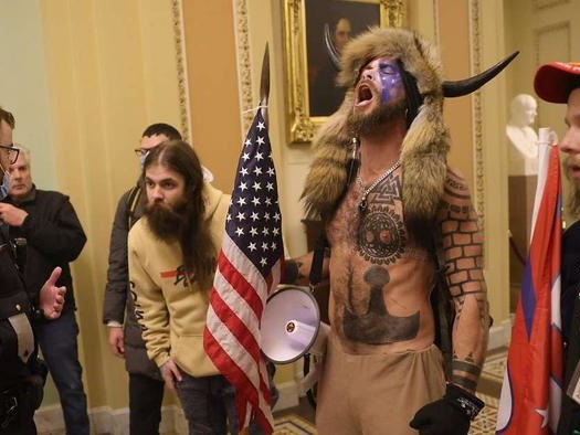 Yeah, 9/11 Was Bad; But It Wasn't 'QAnoners Wandering Around The Capitol For A Few Hours'-Bad