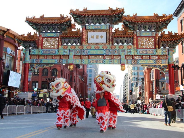 Where to Eat Chinese Food Around DC's Annual Chinese Lunar New Year Parade