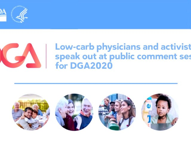 Physicians make a strong case for official low-carb advice