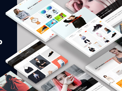 QCShop - eCommerce PSD Template (Shopping)