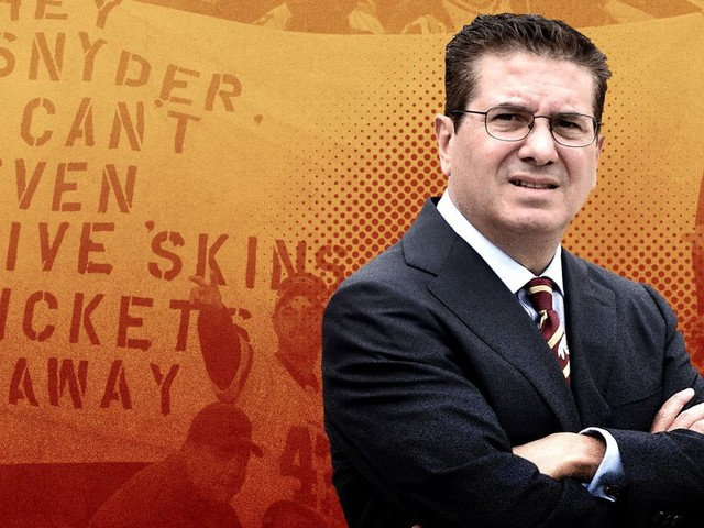 Dan Snyder and the Redskins Are Doomed to a Purgatory of Their Own Creation