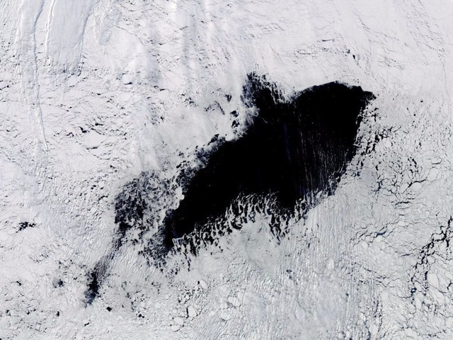 A mysterious hole nearly the size of South Carolina has opened in Antarctica's ice