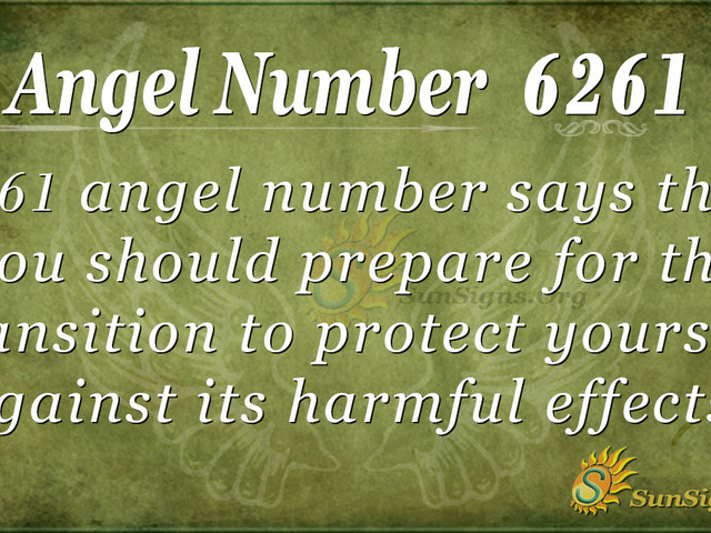 Angel Number 6261 Meaning: Initiation of Life Purpose