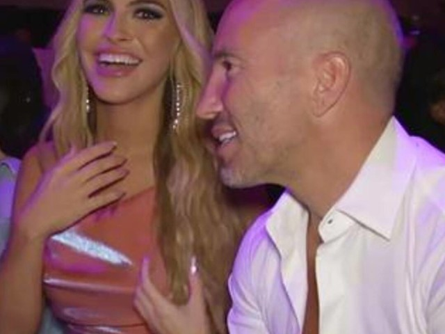 See Chrishell Stause & Jason Oppenheim Front Row at NYFW