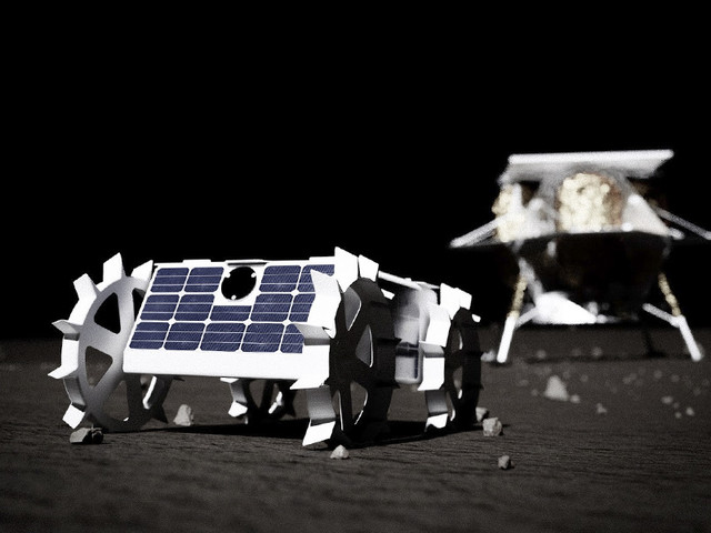 Carnegie Mellon Robot, Art Project To Land on Moon in 2021