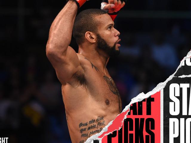 UFC Vegas 38: Santos vs. Walker staff picks and predictions