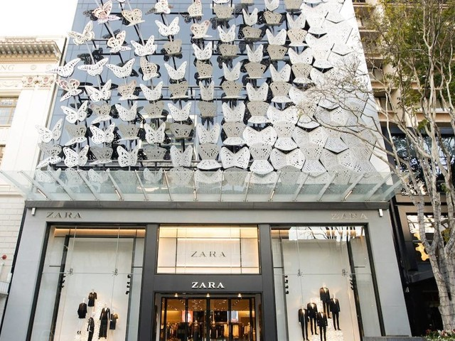 Zara-owner Inditex swings to profit, sales increase 49 percent