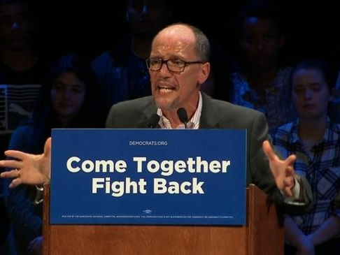 Desperate DNC Chair Set to Hold Fundraisers … In Mexico