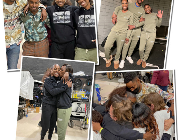 ISSA WRAP! 'Insecure' Cast Has Everyone In Legit Tears With Final Goodbyes (And Matching Sweats) After Filming Finale