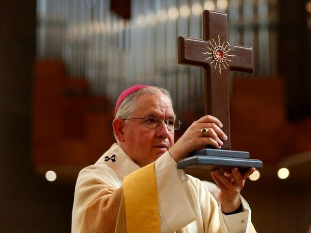 Archbishop to celebrate Easter Sunday Mass at the Cathedral of Our Lady of the Angels