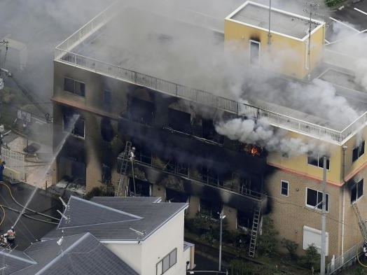 More Than 20 Feared Dead in Arson Attack on Japan's Kyoto Animation