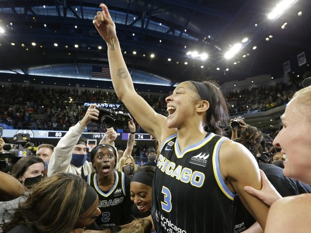 The Sky's WNBA championship with Candace Parker feels too good to be true