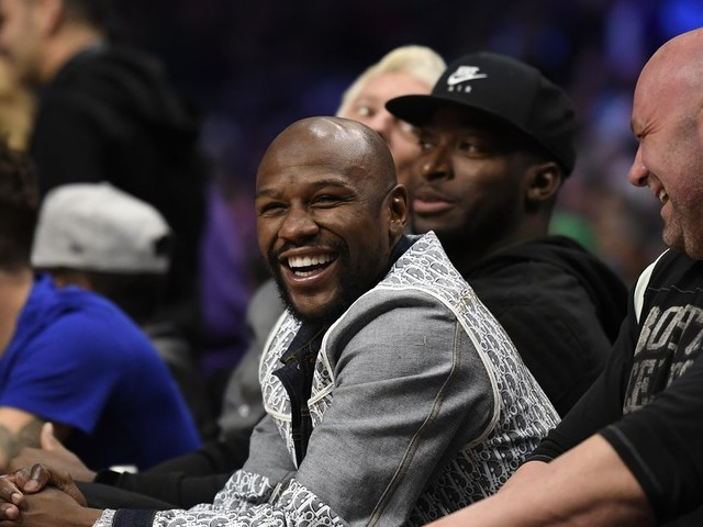 White on working with Mayweather: 'I'm not just a UFC guy anymore'