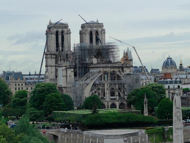 Notre Dame Restoration Halted Due to High Lead Levels
