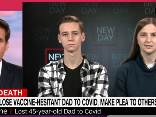 CNN interviews grieving kids who blame Tucker Carlson for their unvaccinated dad's death from COVID