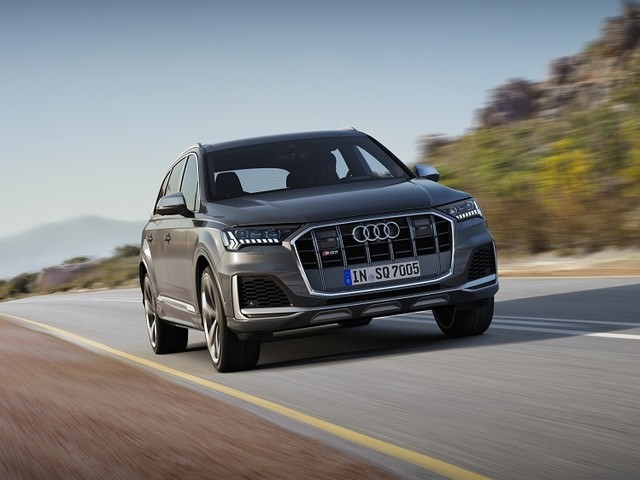 2020 Audi SQ7 and SQ8 First Look