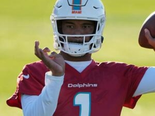 Tagovailoa to start, CBs Howard, Jones out for Dolphins