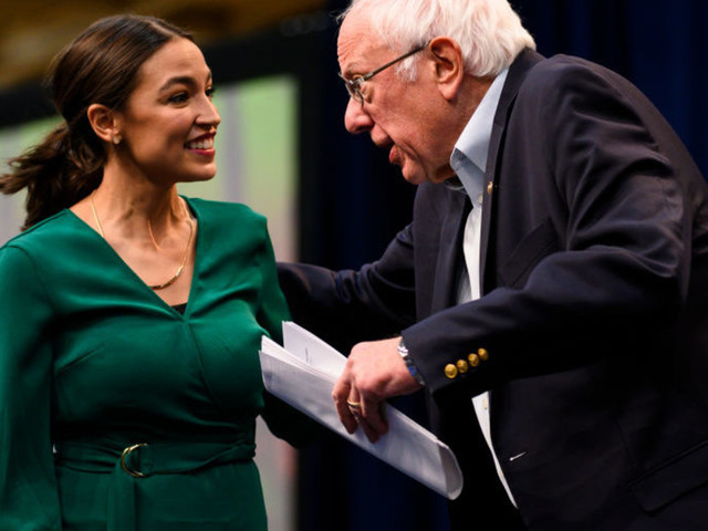 Video shows AOC calling for a socialist 'revolution' at a Bernie Sanders rally in Iowa