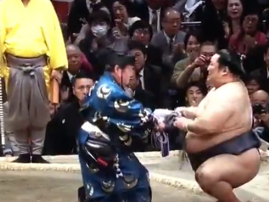 A Cinderella sumo win is Japan's best sports story