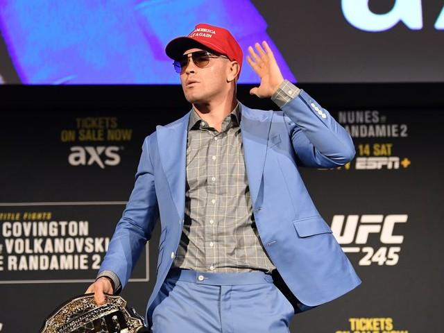 Covington reacts to McGregor vs. 'broke back Cowboy': They both should retire
