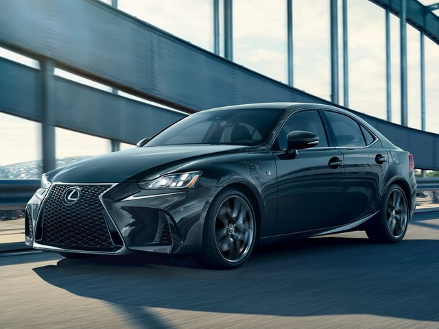 Lexus IS F Sport Blackline Edition