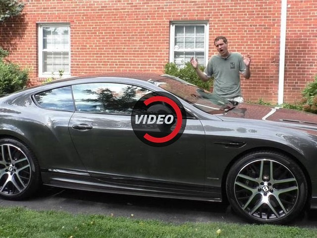 DeMuro Finds Few Faults With 700HP Bentley Continental SS, The Hellcat Of Luxury Coupes