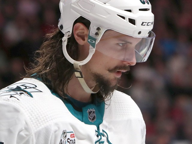 Sharks' Erik Karlsson faces suspension over illegal hit to head against Kings player