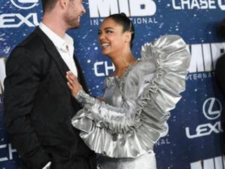 Tessa Thompson is OK with the 'Men in Black' title, for now