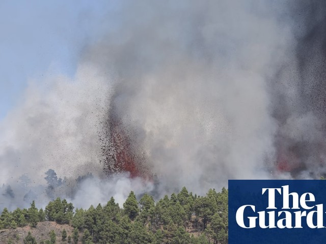 Spanish Canary Island volcano erupts after weeks of earthquakes