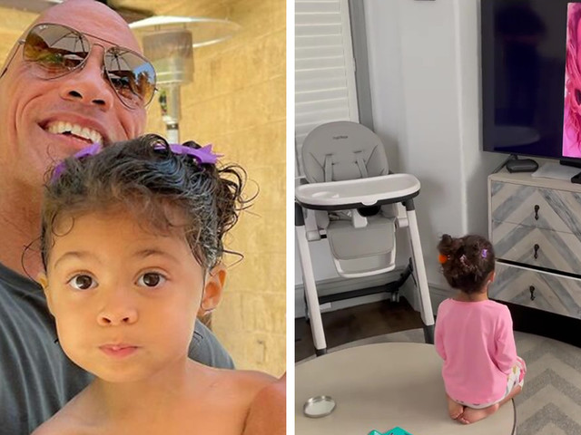The Rock's 3 Y.O. Daughter Wanted Aquaman At Her Birthday, Aquaman's Actor Jason Momoa Delivers
