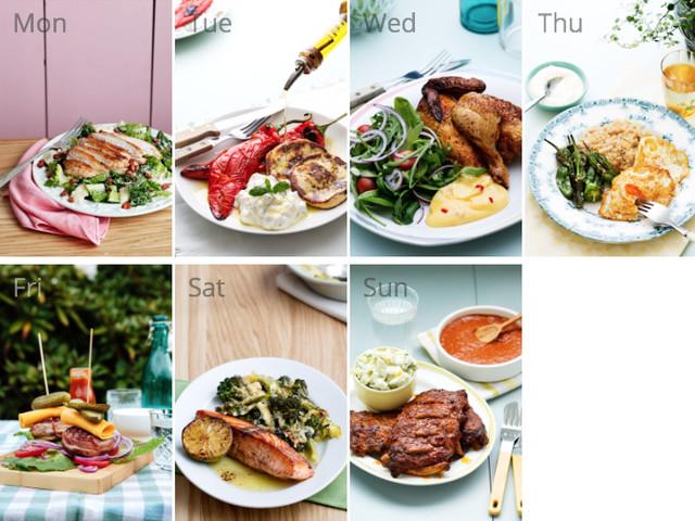 #9 meal plan: Summertime favorites