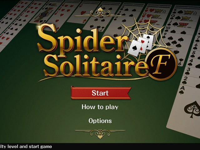 Spider Solitaire F Is Now Available For Xbox One And Windows 10 (Xbox Play Anywhere)