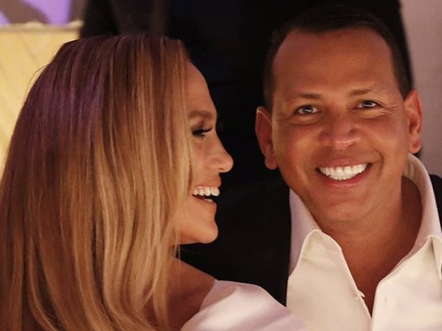 Celebrate Good Times! Jennifer Lopez and Alex Rodriguez Live It Up at Their Engagement Party