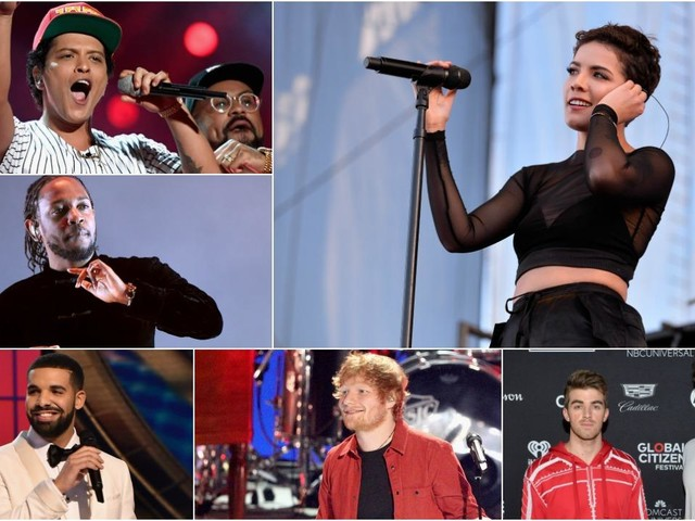 American Music Awards Take Heat for Lack of Female Nominees as Bruno Mars, Drake and Ed Sheeran Top List