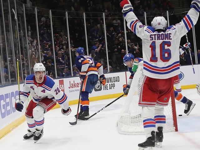 Kreider Scores Late To Lift Rangers Over Islanders