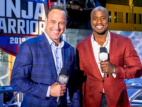 'ANW Jr' Hosts Akbar Gbajabiamila & Matt Iseman Reveal The Secrets To Their Enthusiastic Commentary