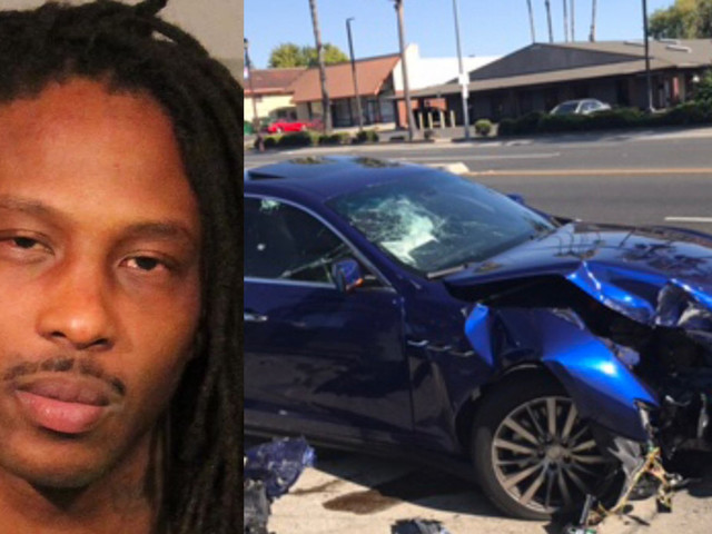 Roseville Kidnapping Suspect Crashes Maserati While Fleeing From Authorities
