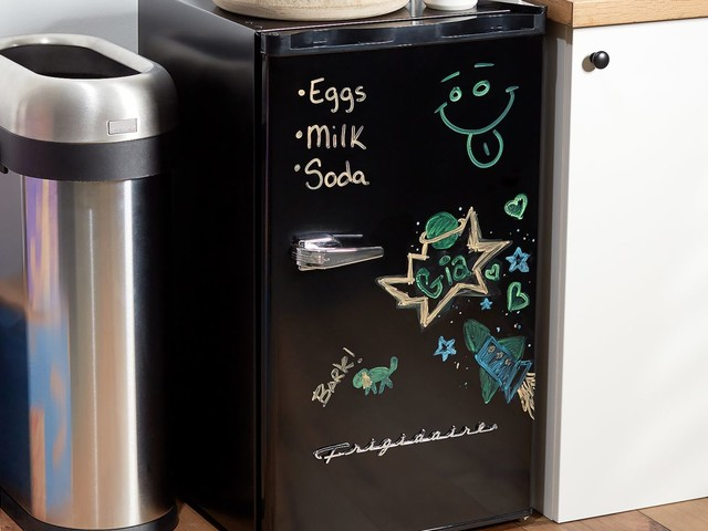 You Can Write Your Grocery List On the Front of This $99 Mini Fridge