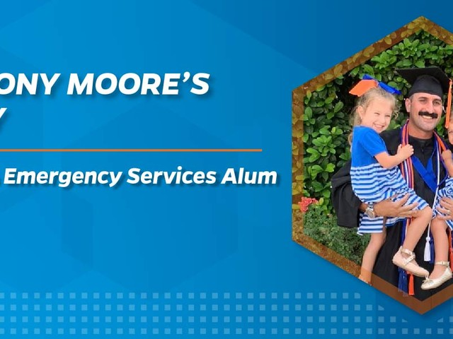 UF Fire & Emergency Services Alum Balances His Education, Career, and Family