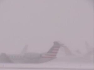 Chicago snow leads to plane sliding off runway