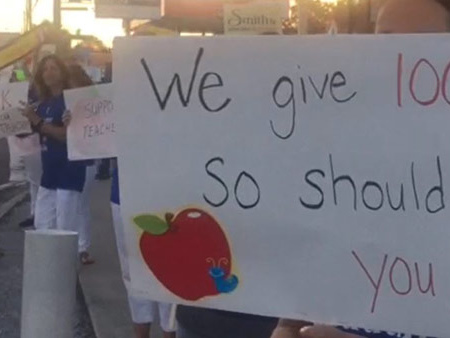 Teachers, students to protest teacher pay at Hillsborough School Board meeting
