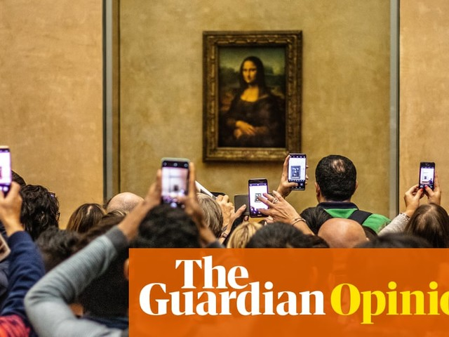 How many likes for Da Vinci? Why it's fine to take pictures in an art gallery