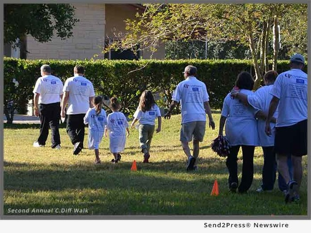 2nd Annual Global C.diff. Walks in New Port Richey, Florida to Raise Awareness on Importance of Clostridium difficile Infections Worldwide