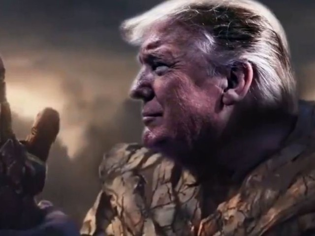 Donald Trump Channels His Inner Thanos In 'Avengers'-Themed Campaign Video