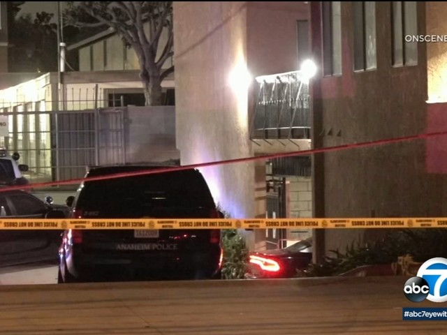 Suspect dead after officer-involved shooting in Anaheim