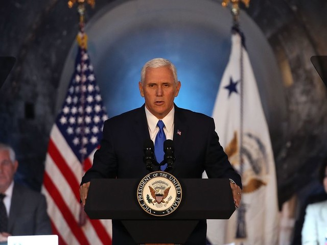 NASA will put humans on the Moon again, Mike Pence tells space council